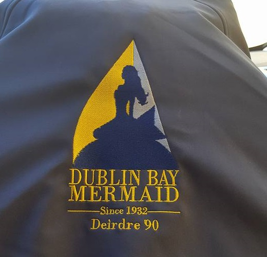 Order your own piece of customised Dublin Bay Mermaid clothing