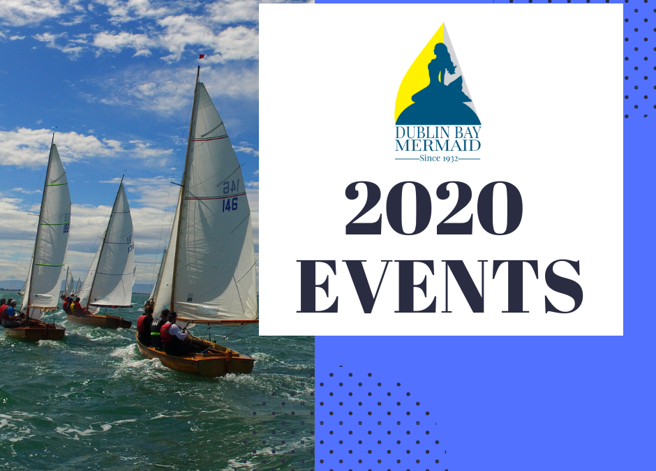 Revised Events Calendar for 2020